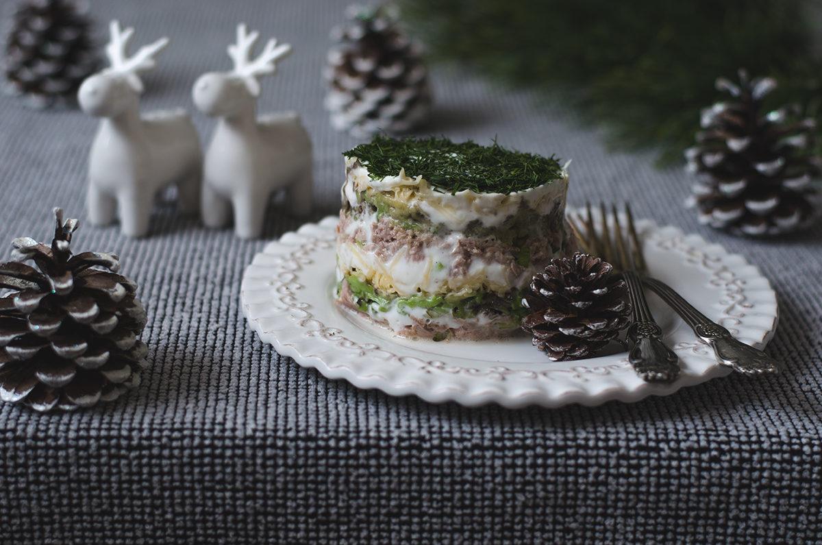 Салат «Мимоза» с авокадо