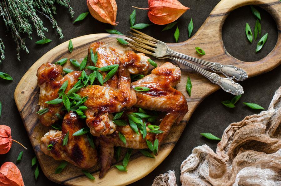 Рецепт куриных крылышек от Джейми Оливера