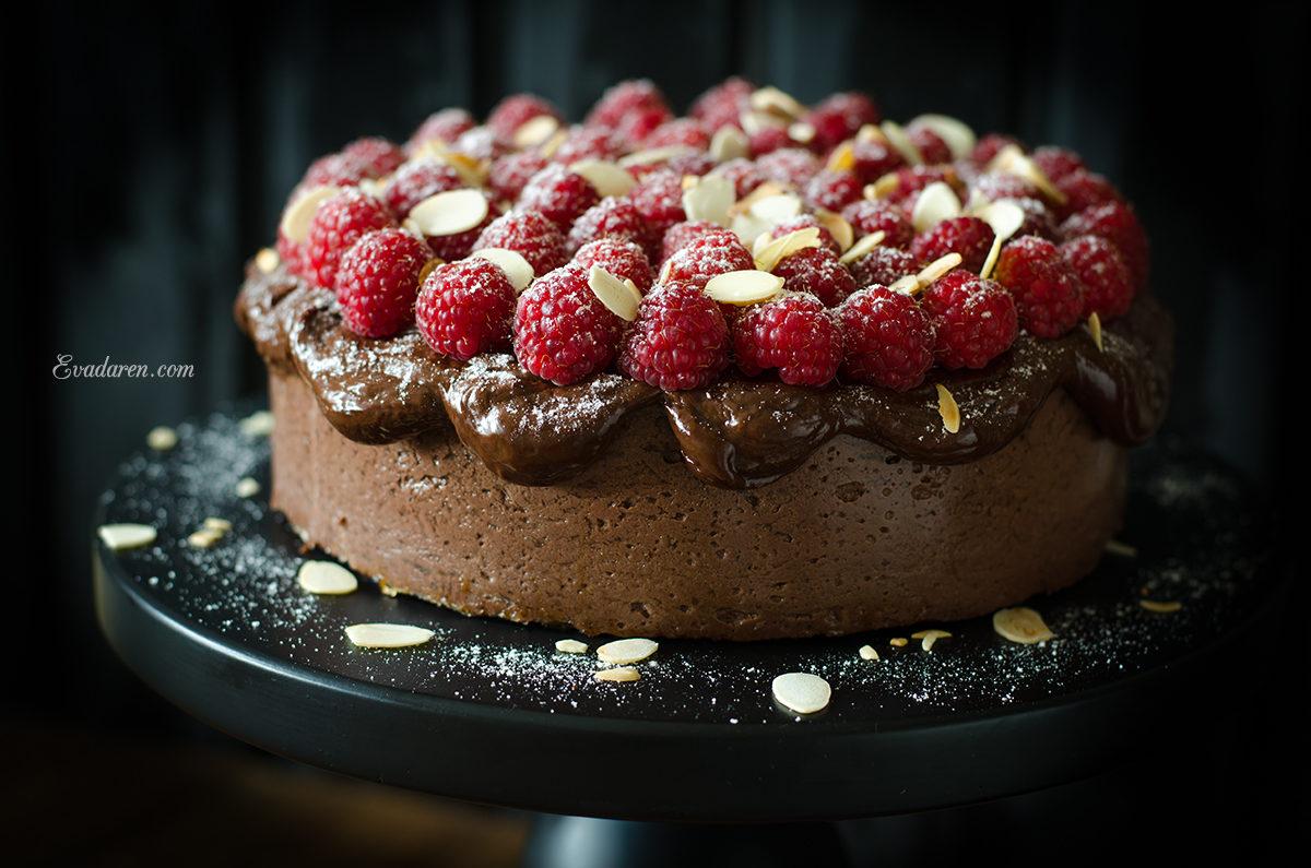 Шоколадный чизкейк на агар-агаре