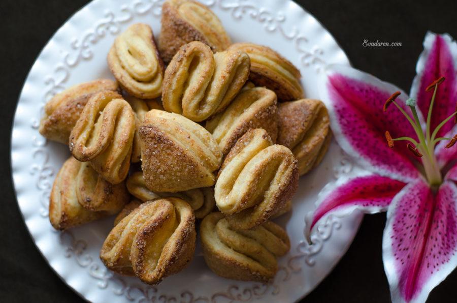 Печенье «творожные ракушки»