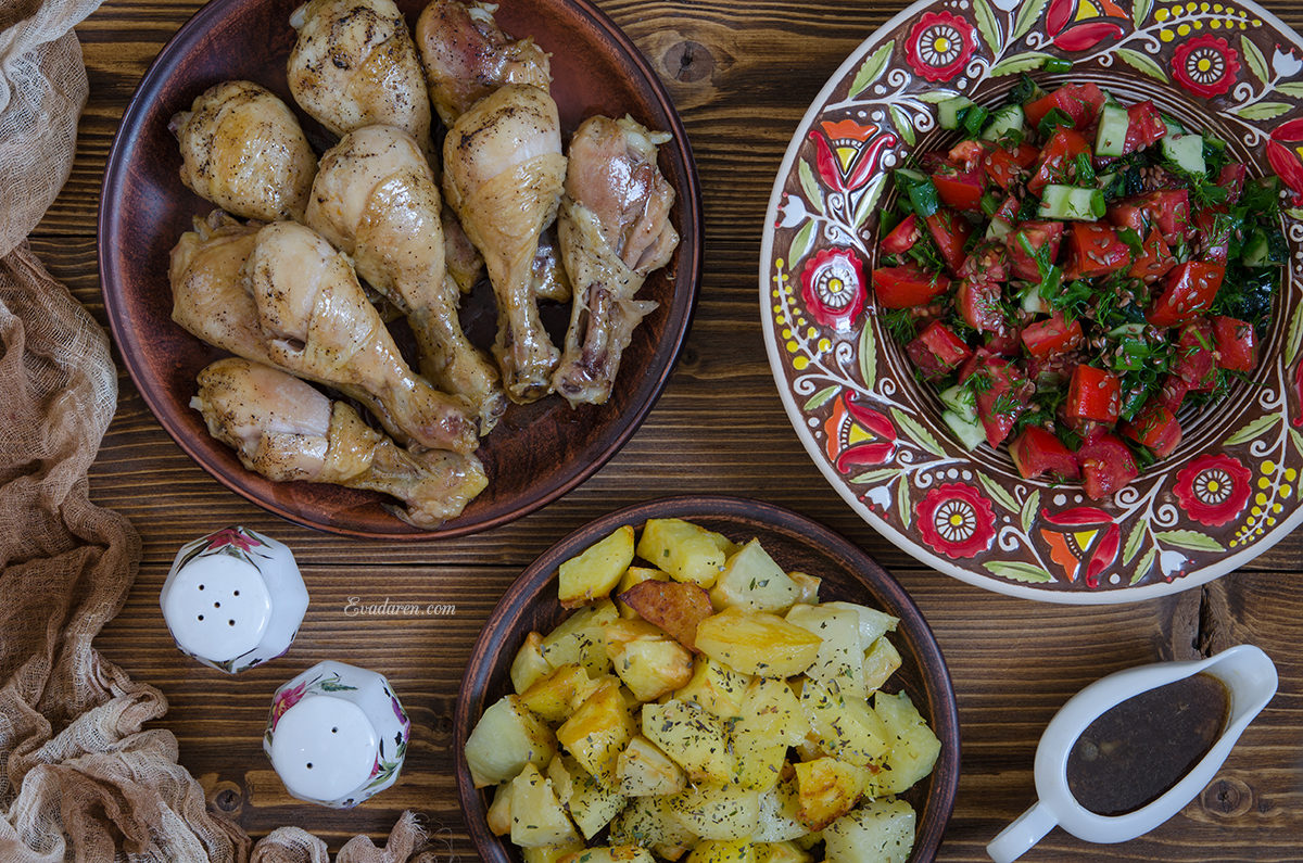 Курица и картофель от Гордона Рамзи