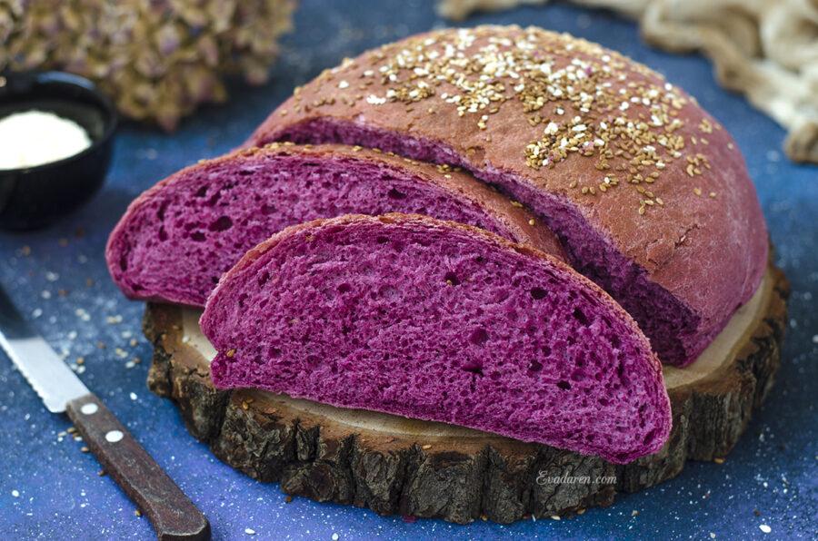 Быстрый хлеб с порошком асаи
