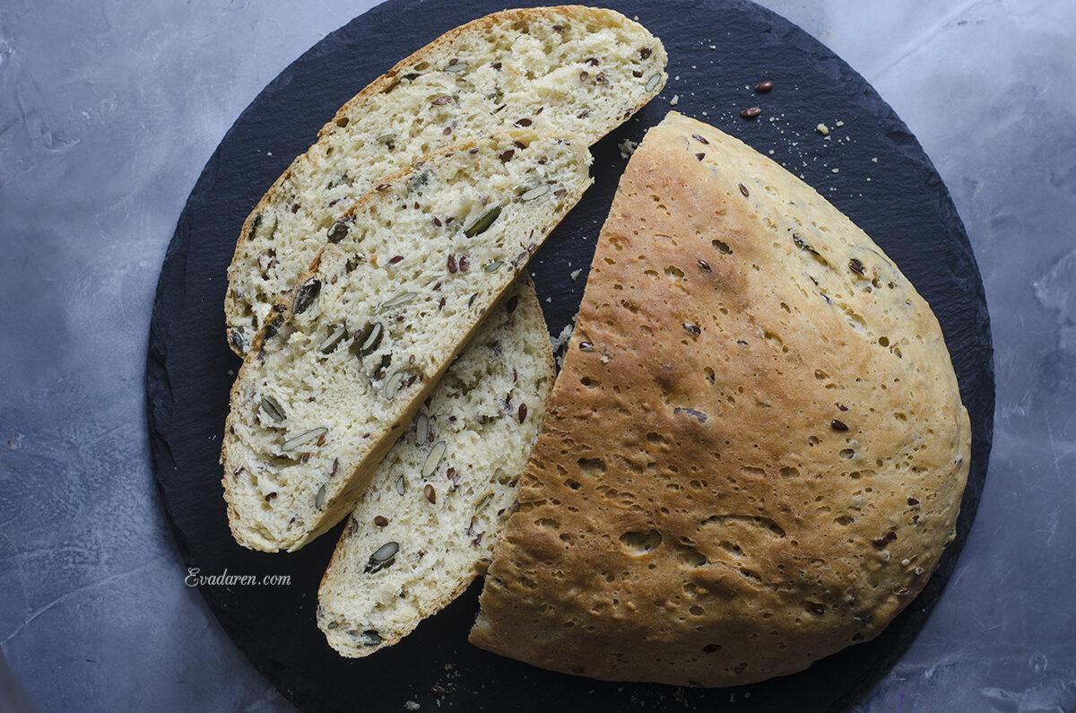 Быстрый хлеб с семенами