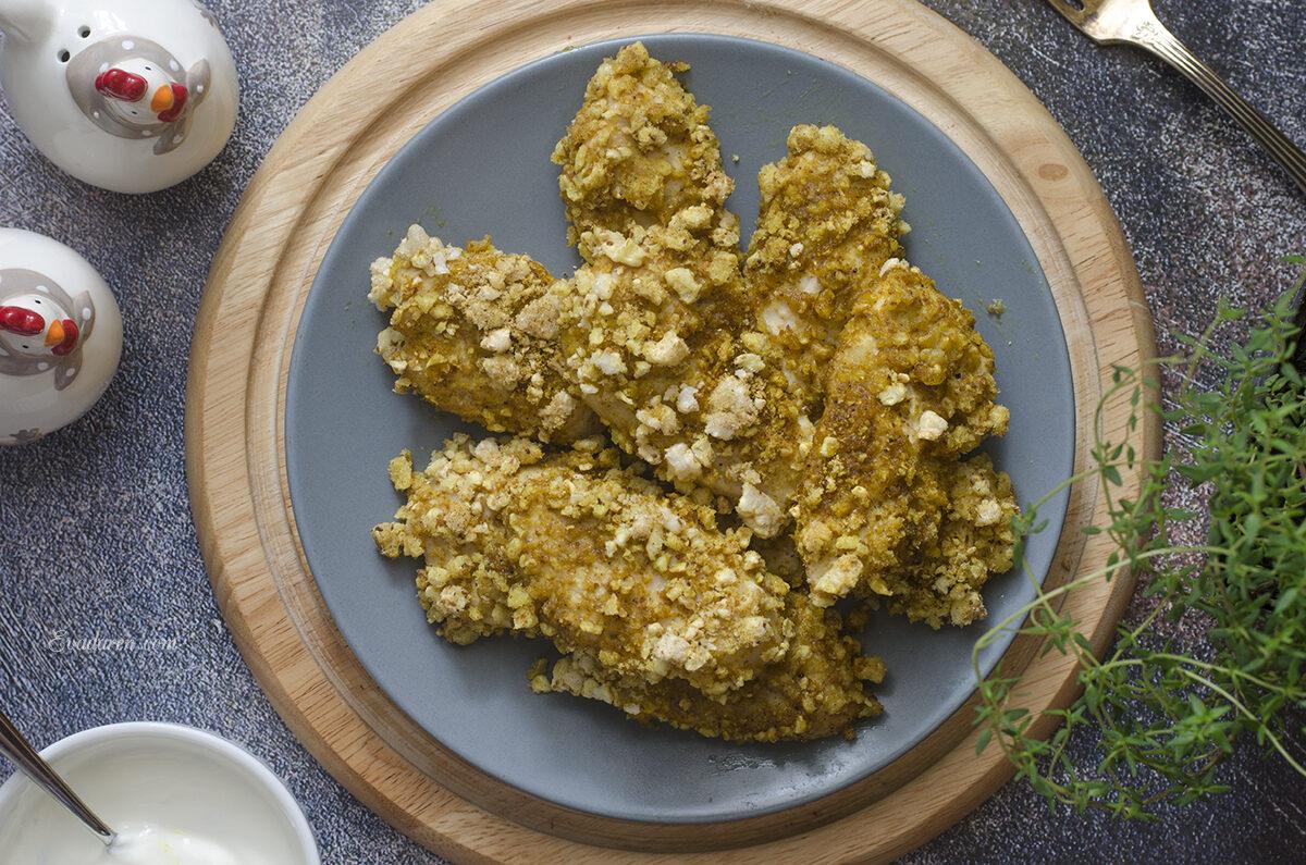 Домашние куриные наггетсы